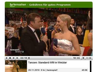 WM std 2010 - HR-online mit Isabel Edvardsson